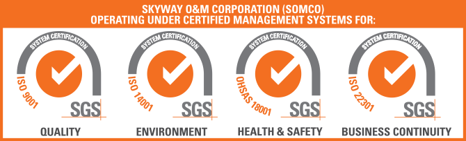 Skyway ISO Certifications