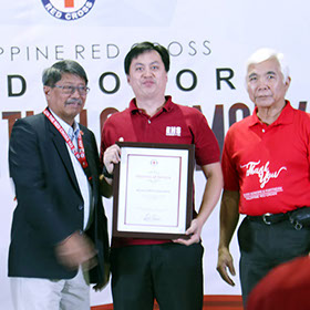 SOMCO is Philippines Red Cross Awardee